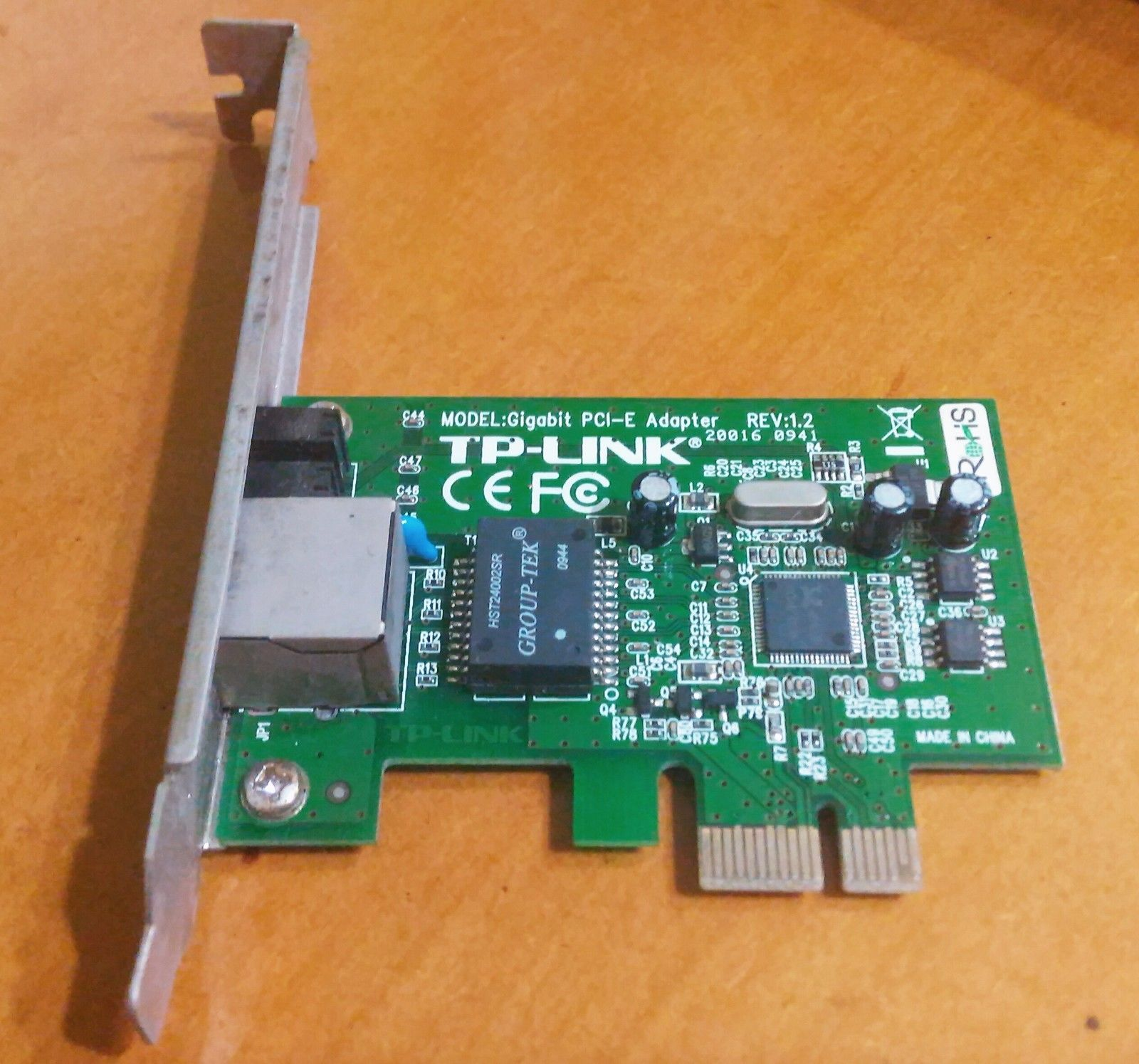 X99 Board Without Pci Slot E Only Almost No Hw Device Tp Link Tg 3468 Gigabit Express Network Adapter Version 1 Pic2